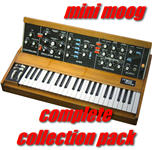 Mini Moog Complete Collection Pack