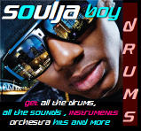 Exclusive Soulja Boy Drums+ Instruments