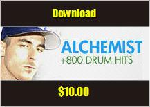 Product picture The Alchemist Drum Kit 800+ sounds